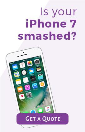 Smashed iPhone?